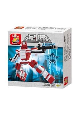 Sluban Kutulu Blok Dönüşen Robot 78 Parça