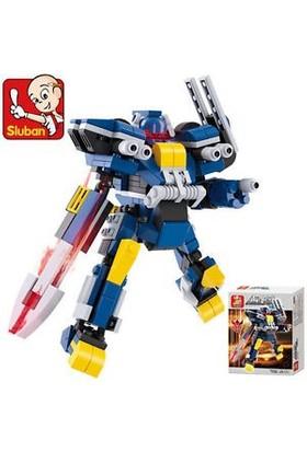 Sluban Kutulu Blok Dönüşen Robot 237 Parça