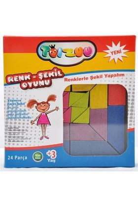 Toizuu Renk Şekil Oyunu 24 Parça