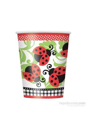 Balon Lively Ladybugs Plastik Bardak 180-200 Cc (8 Ad)