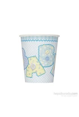 Balon Baby Blue Stitching Bardak (8 Ad)