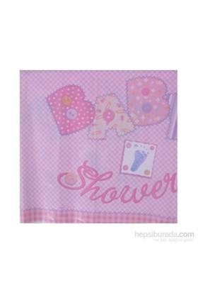 Balon Baby Pink Stitching Masa Örtüsü 137X213 Cm