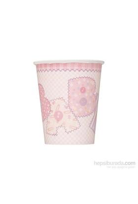 Balon Baby Pink Stitching Bardak (8 Ad)