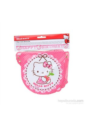 Balon Hello Kitty Hearts Happy Birthday Set
