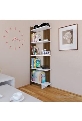 Eyibil Mobilya Maria 5 Raflı Kitaplık