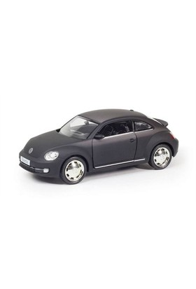 Rmz City Die Cast 1:32 Volkswagen New Beetle 2012 Matte Black Edition
