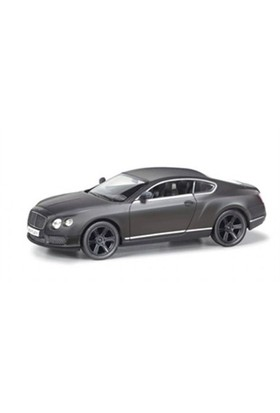 Rmz City Die Cast 1:32 Bentley Continental Gt V8 Matte Black Edition