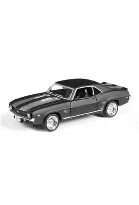 Rmz City Die Cast 1:32 1969 Chevrolet Camaro Ss Matte Black Edition