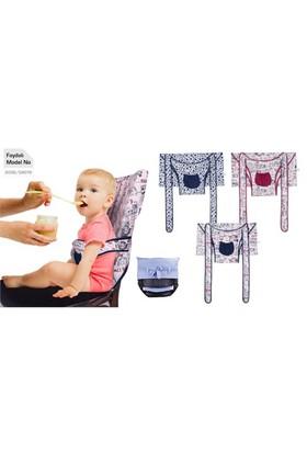 Sevi Bebe Kumaş Mama Sandalyesi Lacivert