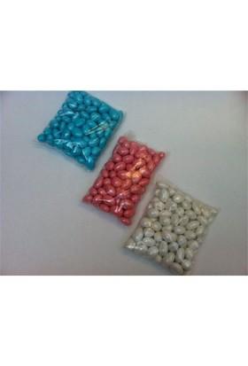 Toptansüs Çikolatalı Badem Draje Şeker (1 Kg Paketlerde, Taze) Mavi - 1 Adet / Paket