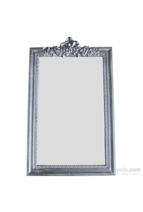 Motifli Ayna Lüks 101-001 Silver