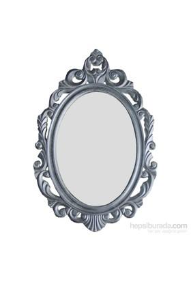 Motifli Ayna 27-001 Silver