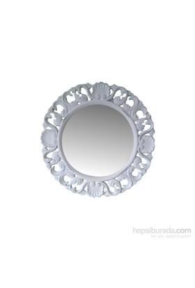 Motifli Ayna Yuvarlak 51 Cm