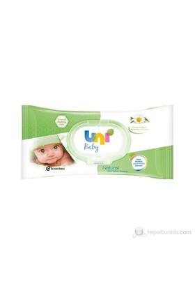 Uni Baby Natural Islak Havlu / 56'lı