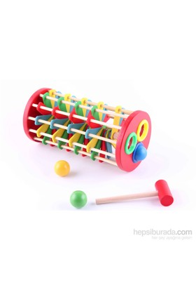 Wooden Toys Knock Ball The Ladder