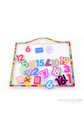 Wooden Toys Wooden Magnetic Board