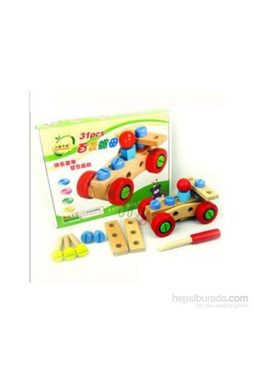 Wooden Toys Hundred Change The Nut Building Blocks