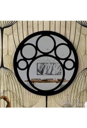 Eyibil Mobilya Çember Dekoratif Ayna 90X90 Cm