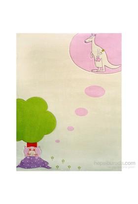İvi Ruya Pembe Halı / 134x180 cm