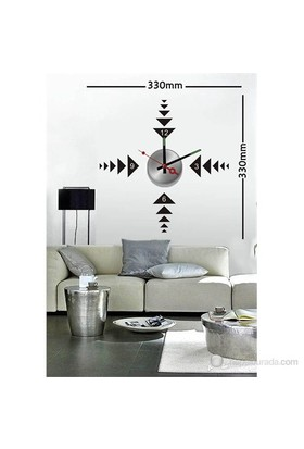 Karin Stickerli Tasarım Saat-33Cmx33cm