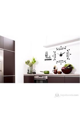 Karin Stickerli Tasarım Saat-100Cmx80cm