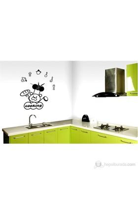 Karin Stickerli Tasarım Saat-80Cmx105cm