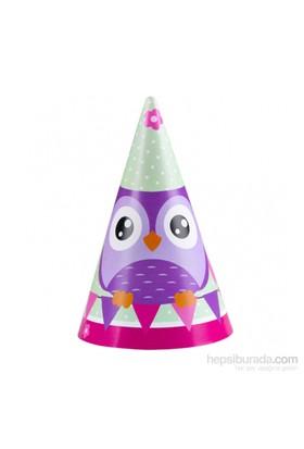 KullanAtMarket Uğurlu Baykuş Külah Şapka 8 Adet