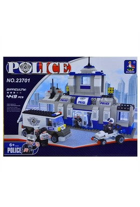 Ausını Ausini 449 Parça Polis Yapı Seti