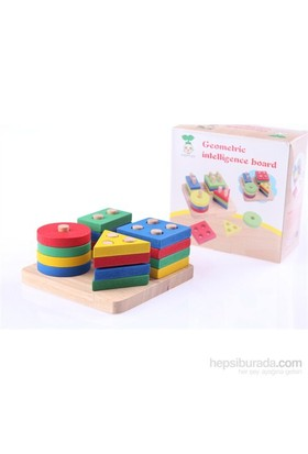 Wooden Toys Geometric Intelligence Board