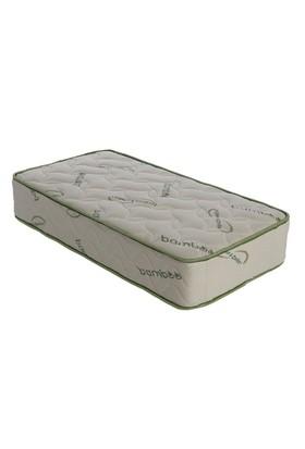 Belis Ortopedik Bamboo Yaylı Yatak - Yaylı Bebek Yatağı 50X100 Cm