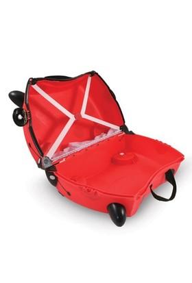 2b0e8ecb3d0a0 ... Trunki Uğurböceği Harley Binilen Ve Sürülen Çocuk Bavulu ...
