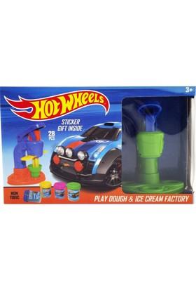 Elıt Hotwheels Dondurma Fabrikası Oyun Hamuru Seti