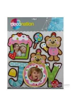 Stic&Stic Eğlenceli Ayıcık Neşeli Çerçeve Sticker