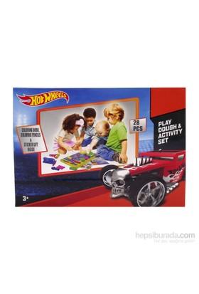 Elıt Hot Wheels Oyun Hamuru Aktivite Masası