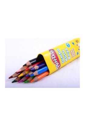 Play-Doh 12 Renk Jumbo Üçgen Kuru Boya - Tüp