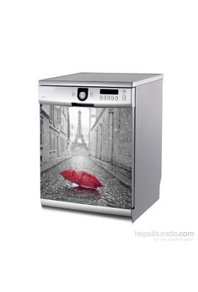 Artikel Yağmurlu Paris Bulaşık Makinası Stickerı Bs-137