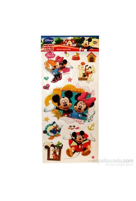 Vardem Disney Karakterleri Kabartmali Sticker Seti