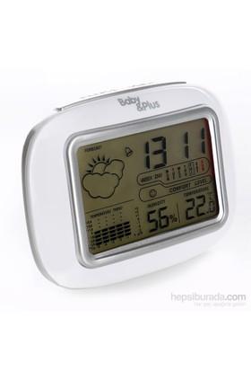 Baby&Plus 6637 Dijital Masa Saati Nem Ve Sıcaklık Ölçer