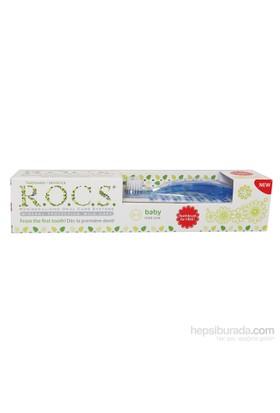 Rocs Baby Diş Macunu Ve Diş Fırçası Seti