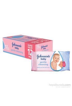 Johnsons Baby Islak Mendil 56'lı Losyonlu / 12'li Paket (672 Yaprak)