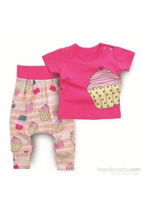 Baby Corner Şalvar Takım / Cupcake
