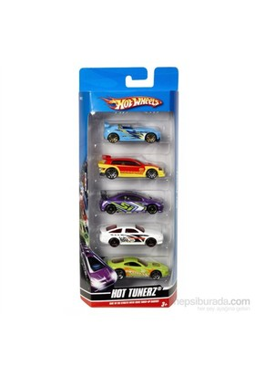 Hot Wheels Beşli Araba Seti