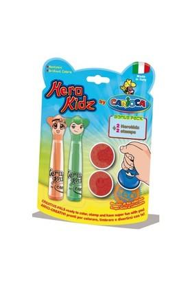 Carioca Herokidz Şekilli Jumbo Süper Yıkanabilir Keçeli Kalemler