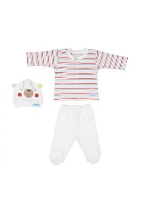 Bebepan Mr Cream Bebek Pijama Takımı
