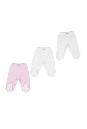 Bebepan Mrs Cream 3Lü Patikli Pantolon