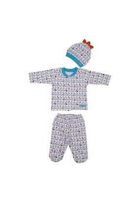 Bebepan Birds Bebek Pijama Takımı