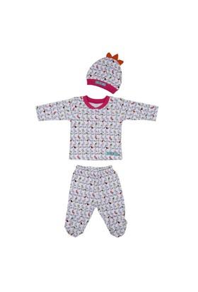 Bebepan Tropical Bebek Pijama Takımı