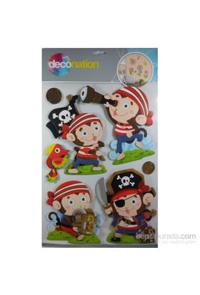 Stic&Stic Korsan Dünyası Sticker