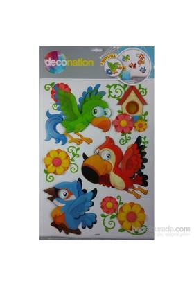 Stic&Stic Papağanların Dostluğu Sticker