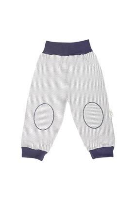 Minou Organik Pantolon/Pijama Lacivert Çizgili